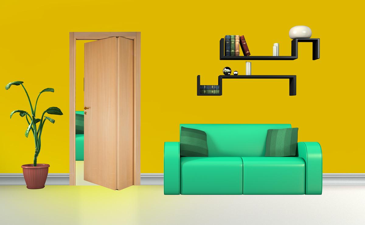 Folding Door Asimmetrica