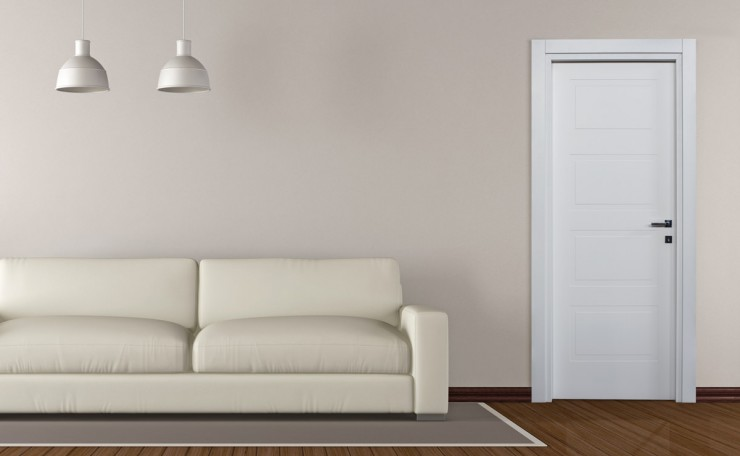 Porta interna Morandi - Colore: Laccato Bianco